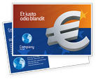 Financial/Accounting: European Union Postcard Template #02642