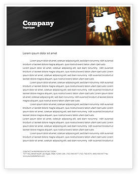 Business Concepts: Missing Part Letterhead Template #02652