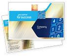 Telecommunication: Touchpad Postcard Template #02667