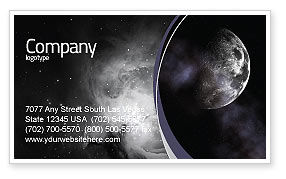 Nature & Environment: Moon Business Card Template #02670