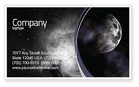 Nature & Environment: Modello Biglietto da Visita - Luna #02670