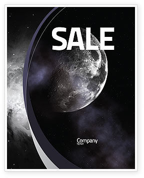 Nature & Environment: Moon Sale Poster Template #02670