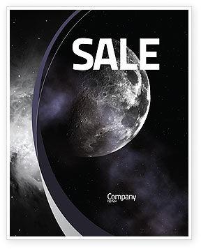 Moon Sale Poster Template, 02670, Nature & Environment — PoweredTemplate.com
