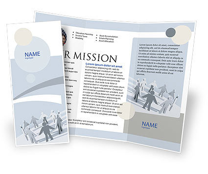 Business Concepts: Community Brochure Template #02677