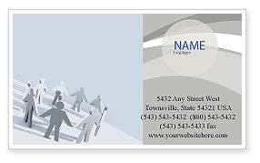 Business Concepts: Community Business Card Template #02677