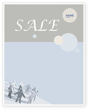 Community Sale Poster Template