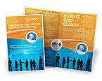 People: Plantilla de folleto - contratación de personas #02686