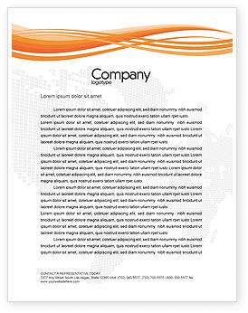 People: Contracting People Letterhead Template #02686