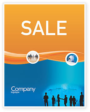 People: Contracting People Sale Poster Template #02686