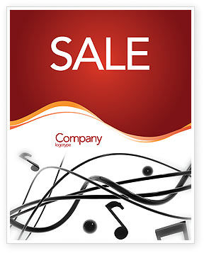 Art & Entertainment: Music Sale Poster Template #02687