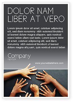 Diversity Ad Template, 02689, Religious/Spiritual — PoweredTemplate.com