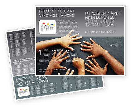 Religious/Spiritual: Diversity Brochure Template #02689
