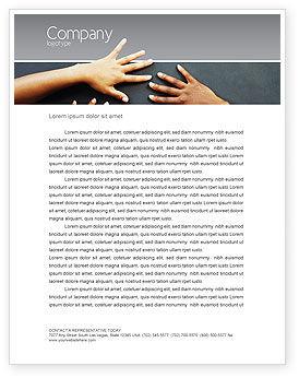 Religious/Spiritual: Diversity Letterhead Template #02689
