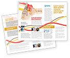 Telecommunication: Modello Brochure - Cavo patch ethernet #02692