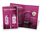 Medical: Transfusion Brochure Template #02694