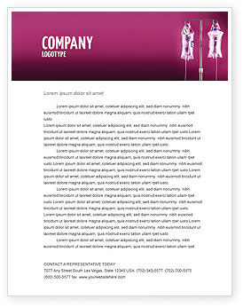 Medical: Transfusion Letterhead Template #02694