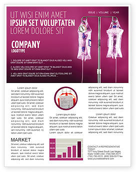 Medical: Transfusion Newsletter Template #02694