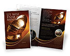 Art & Entertainment: Knight's Helmet Brochure Template #02695