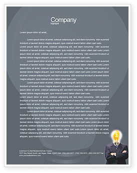 Business Concepts: Make Money Letterhead Template #02696
