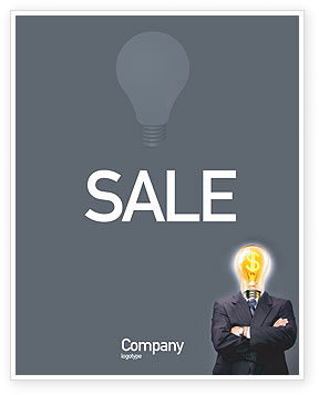 Make Money Sale Poster Template, 02696, Business Concepts — PoweredTemplate.com