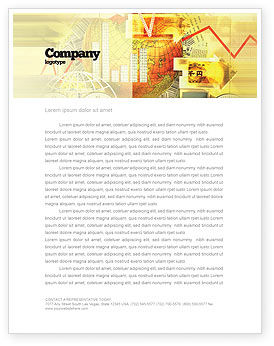 Technology, Science & Computers: Information Scope Letterhead Template #02700
