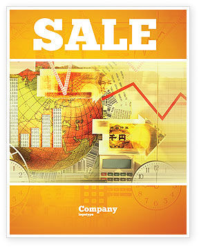 Technology, Science & Computers: Information Scope Sale Poster Template #02700