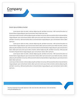 People: Round Dance Letterhead Template #02707