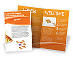 Agriculture and Animals: Goldfish Brochure Template #02710