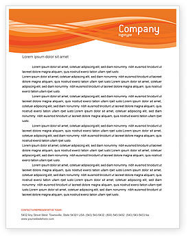 Goldfish Letterhead Template, 02710, Agriculture and Animals — PoweredTemplate.com