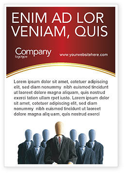 Careers/Industry: Baas Advertentie Template #02711