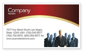 Careers/Industry: Boss Business Card Template #02711