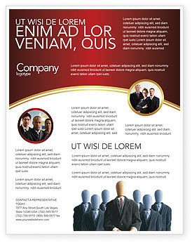 Templat Flyer Bos, 02711, Karier/Industri — PoweredTemplate.com