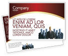 Careers/Industry: Boss Postcard Template #02711