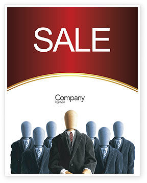 Boss Sale Poster Template, 02711, Careers/Industry — PoweredTemplate.com