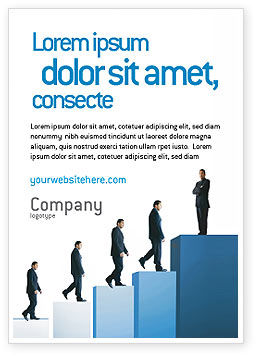 Successful Career Ad Template, 02715, Business — PoweredTemplate.com