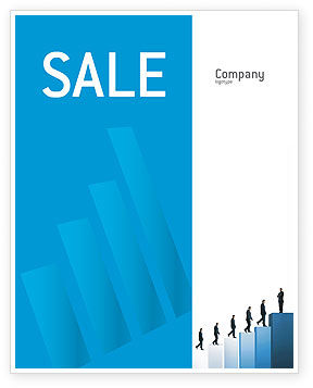 Business: Successful Career Sale Poster Template #02715
