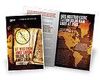 Global: Templat Brosur Kompas Tua #02716