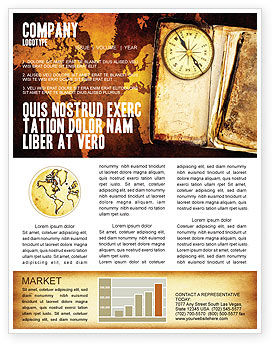 Global: Old Compass Newsletter Template #02716