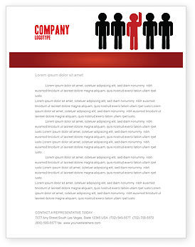Opinion Letterhead Template, 02720, Education & Training — PoweredTemplate.com