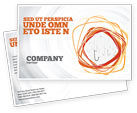 Business Concepts: Hooks Postcard Template #02722