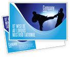 Sports: Martial Art Postcard Template #02724