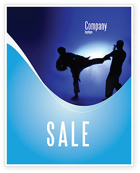 Sports: Martial Art Sale Poster Template #02724