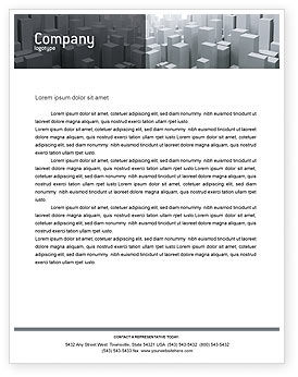 Megalopolis Letterhead Template, 02726, Construction — PoweredTemplate.com