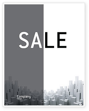 Construction: Megalopolis Sale Poster Template #02726