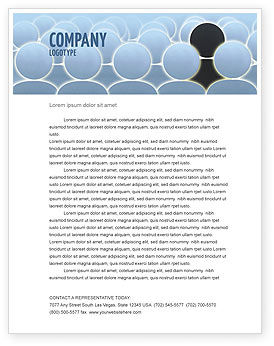 Your Own Point Of View Letterhead Template, 02744, Careers/Industry — PoweredTemplate.com