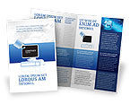 Consulting: Computer Schild Software Brochure Template #02745