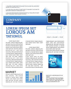 Consulting: Computer Shield Software Newsletter Template #02745