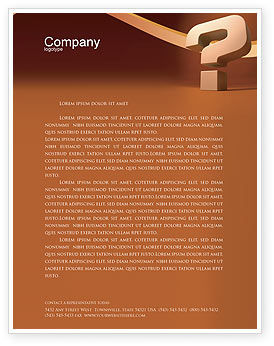 Question Mark In 3D Letterhead Template, 02749, Consulting — PoweredTemplate.com