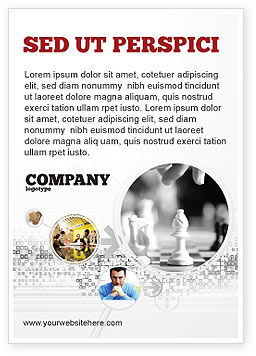Sports: Strategic Position Ad Template #02755