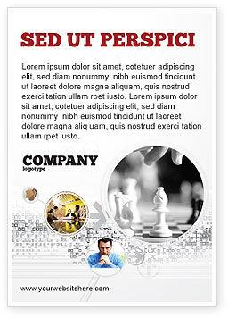 Strategic Position Ad Template, 02755, Sports — PoweredTemplate.com